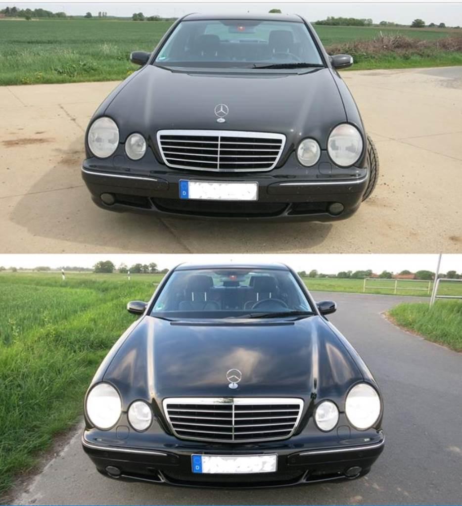 Vorher hinterher Mercedes